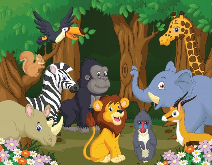 Wild Animals jigsaw puzzle in Animals puzzles on TheJigsawPuzzles.com