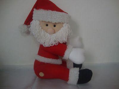 christmas, cortina, felt, feltro, fieltro, molde, navidade fieltro claus, papa noel, papai noel, santa claus, Santa Claus felt