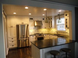 In 2010 we purchased my grandparents 1939 Cape Cod house that they had built for them. We have the original blueprints from when it was built, and it was sold in the 60's to another owner and which we purchased it from them. The kitchen was remodeled in the 70's, with original floor plan in place. W...