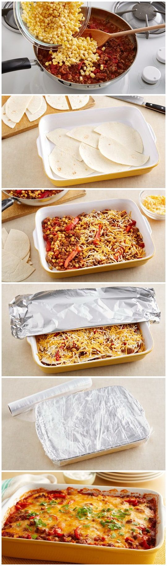 Prep time: 30 min Total time: 1 hr 15 min Servings: 8 INGREDIENTS: 1 lb lean (at least 80%) ground beef 1 package (1 oz) Old El Paso™ 25% less sodium taco...