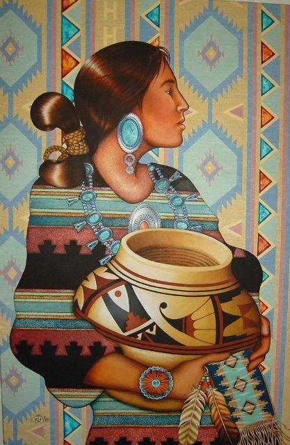 Southwest Art | Amarys - 19_Holly Sierra - Southwestern Art.jpg