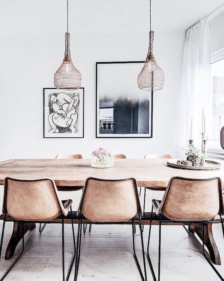 Dreamiest Scandinavian House Design Exterior Ideas 6: Dreamiest Scandinavian Dining Room Design Ideas (11