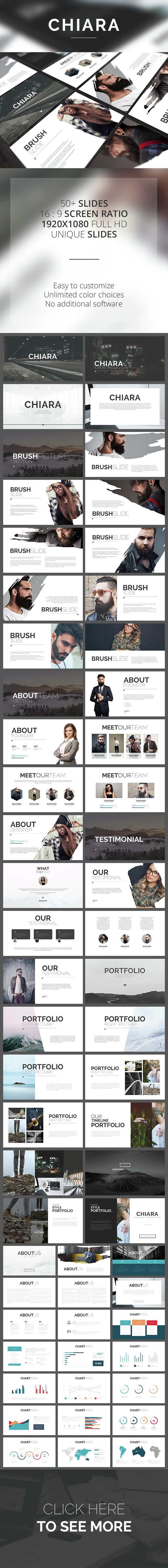 Chiara PowerPoint Template (PowerPoint Templates)