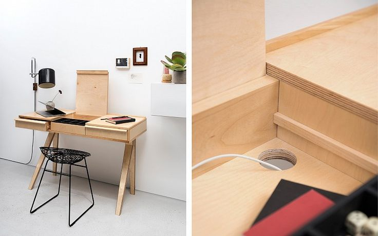 Pastoe - Pastoe Tables: Desk EB01 - Pastoe desk EB01. Design: Cees Braakman - 1951