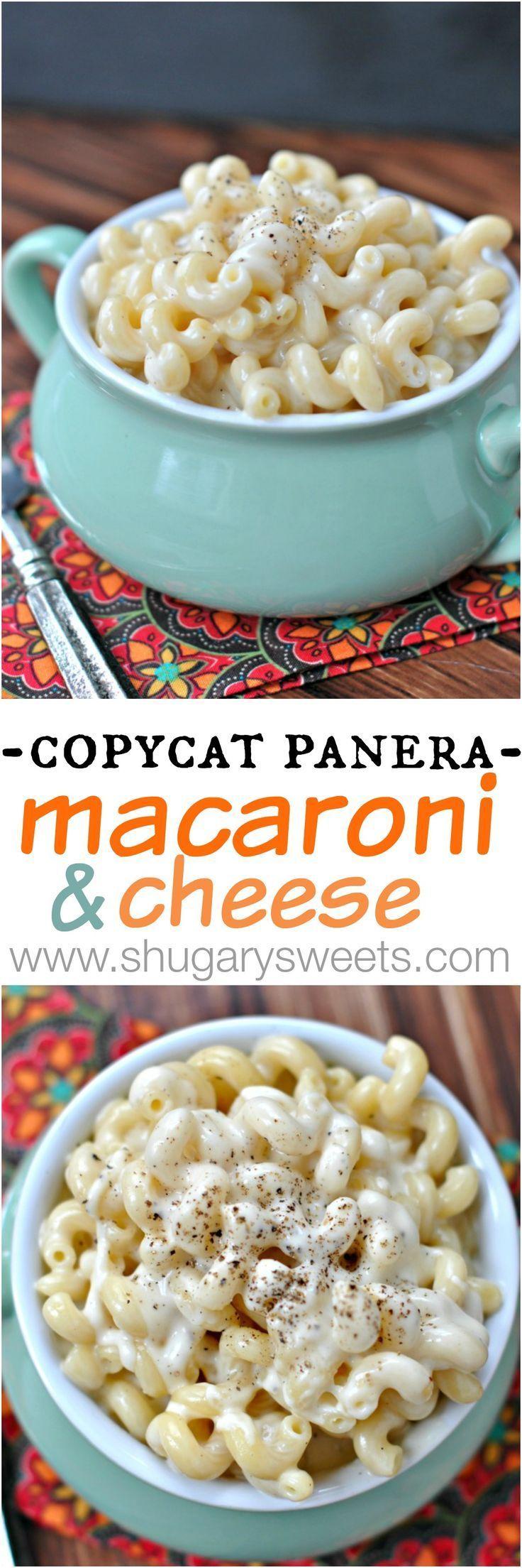 Copycat Panera Macaroni and Cheese