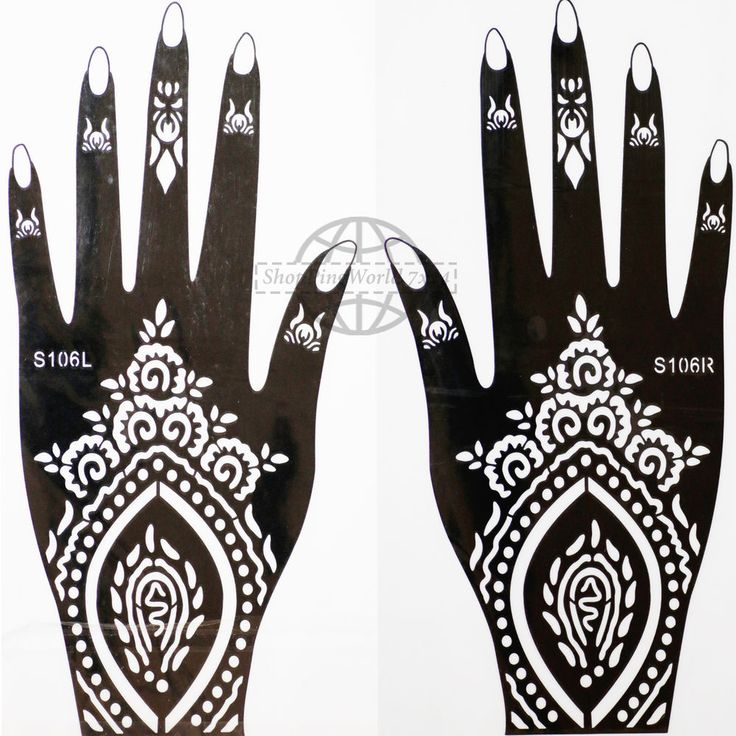 Henna Tattoo Hand Vorlagen Leicht gallery - zalaces ...