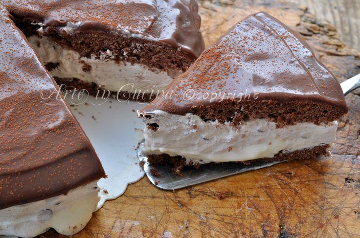 Torta tiramisu nutella e panna, ganache al cioccolato, ricetta dolce, torta facile, veloce, dolce da frigo, pochi minuti di cottura, torta per feste, buffet