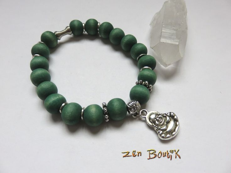 fr_bracelet_zen_bouddha_rieur_assis_et_perles_bois_vert_