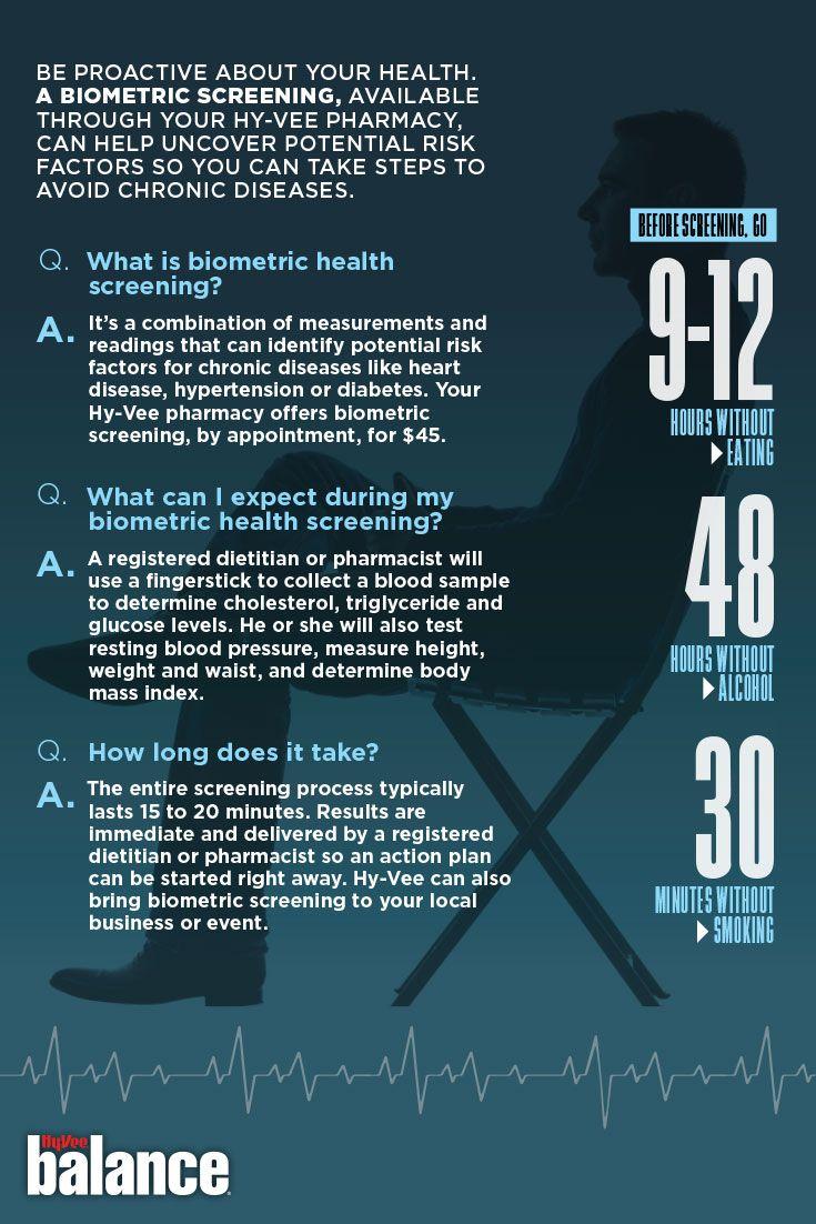 Biometric Screenings Health Screening Health And Wellness Health
