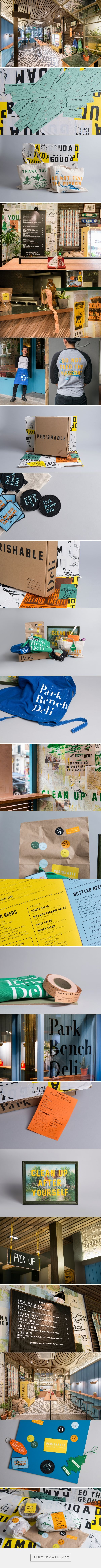 Park Bench Deli Identity & Interiors by Foreign Policy - Grits + Grids - created via https://pinthemall.net