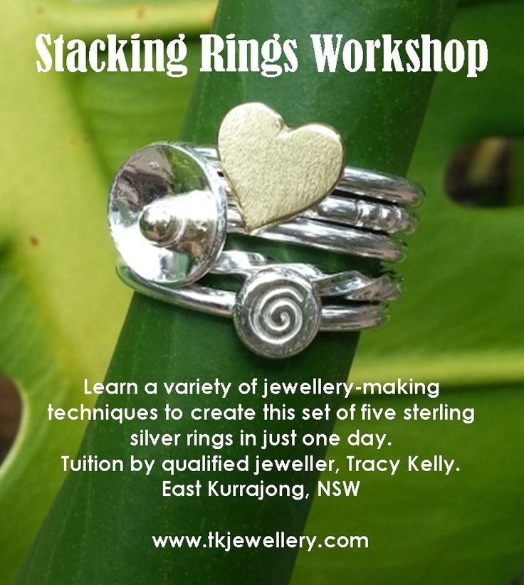 Jewellery-making classes in East Kurrajong, NSW.