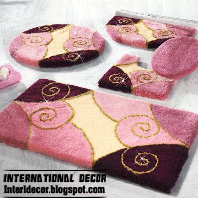 10 Modern Bathroom Rug Sets, Baths Rug Sets, Models, Colors