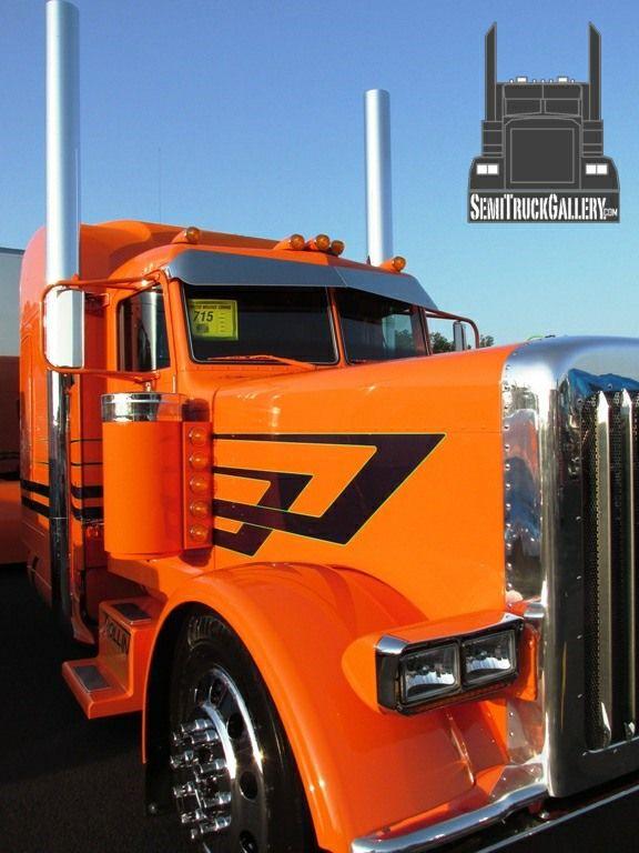 SemiTruckGallery.com ©   Custom Semi Trucks Gallery