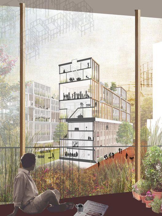 Intimate Infrastructures by Natasha Reid Design. Image Courtesy of New London Architecture