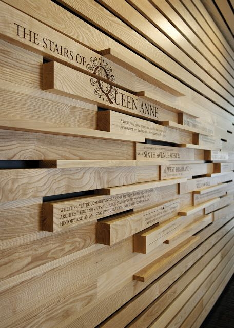 Umpqua Bank Queen Anne Narrative Wall Installation | Made | Modern Designs  For Modern Ideals