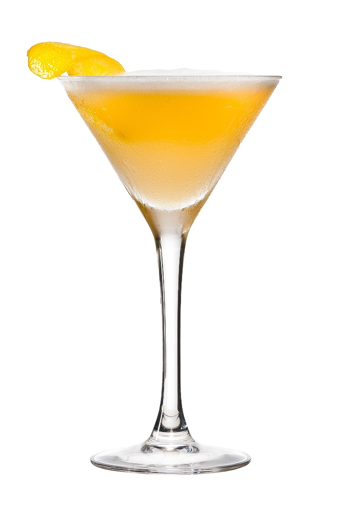 PERFECT LADY : INGREDIENTS -   2 measures Gin  1/4 measures Peach Schnapps Liqueur  1/2 measure Freshly squeezed lemon juice  1 whole Egg white  1/8 measure Sugar syrup (sugar 2:1 water)  Garnish    Lemon zest twist  INSTRUCTIONS - 1 Serve drink with all ingredients shaken with ice. 2 Fine strain into a glass. HOW TO SERVE IT -   Serve in a Martini glass  Garnish with a twist of lemon zest