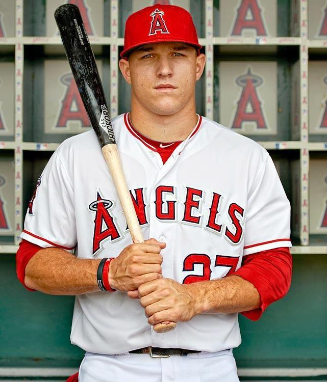 Future Fortunates Mike Trout Angels Baseball Baseball