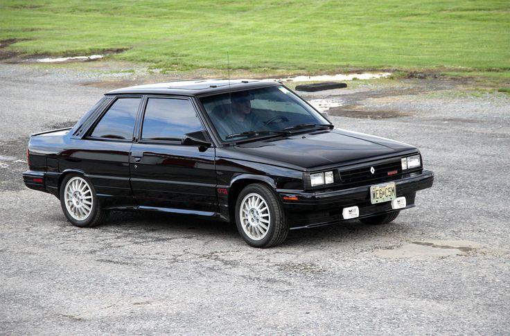 Renault Alliance 1986 4 seats Cabriolet 56000 km fully original ...