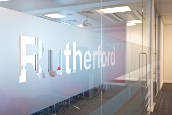 Window Graphics in Office Wall Stickers by Vinyl Impression