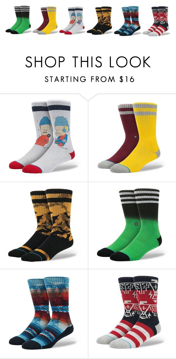 Restocked On Stance Socks For Christmas. Struggling With Some Family Member Present Ideas? It's Easy, Pair Of Socks Will Do It! by blacksheepstore on Polyvore