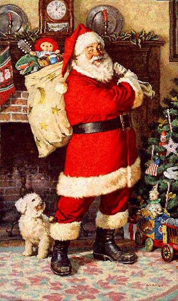 Quien es el querido Papa Noel y como es su historia