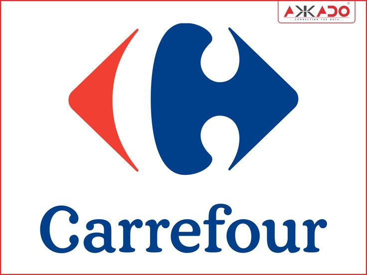 #Carrefour- Playing with the white space! #Akkado #ConnectingtheDots #LogoStory #Carrefour