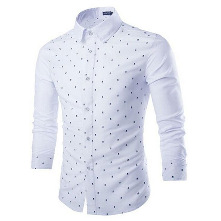 Aliexpress.com: Comprar Estilo 2015 otoño nuevos hombres camisa Patchwork impreso cráneo hombre especial ropa Chemise manga larga camisa delgada camisa para hombre M XXL de camisa de spiderman fiable proveedores en Cloud fashion clothing