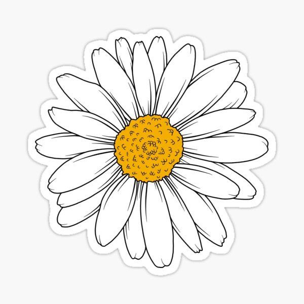 daisy sticker in 2020 | Homemade stickers, Tumblr stickers ...