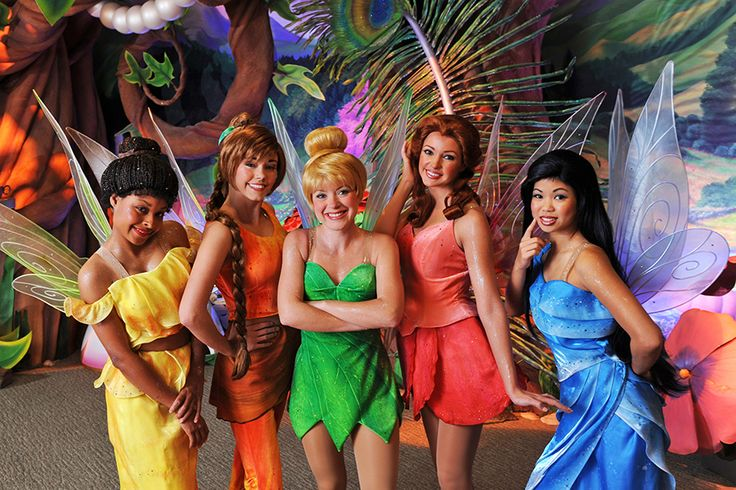 Disney Fairies -- Tinkerbell and friends