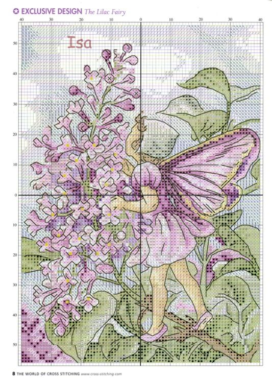 Gallery.ru / Фото #6 - The world of cross stitching 084 май 2004 - WhiteAngel