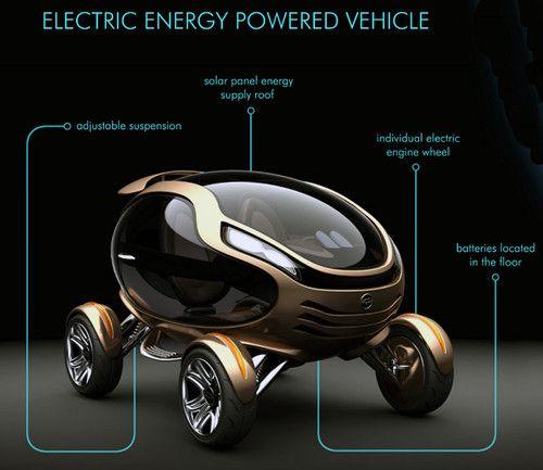 Citroen EGGO, futuristic Car, Damnjan Mitic