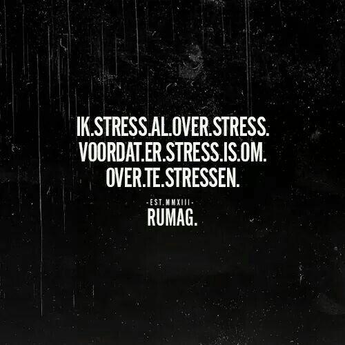 #rumag stress