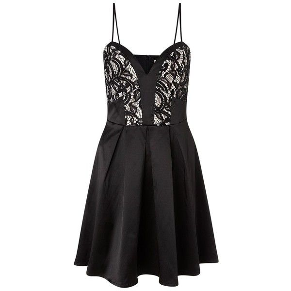 Ariana Grande For Lipsy Lace Cami Prom Dress (4.945 RUB) ❤ liked on Polyvore featuring dresses, camisole dress, cami dress, lacy camisole, lace prom dresses and lacy cami