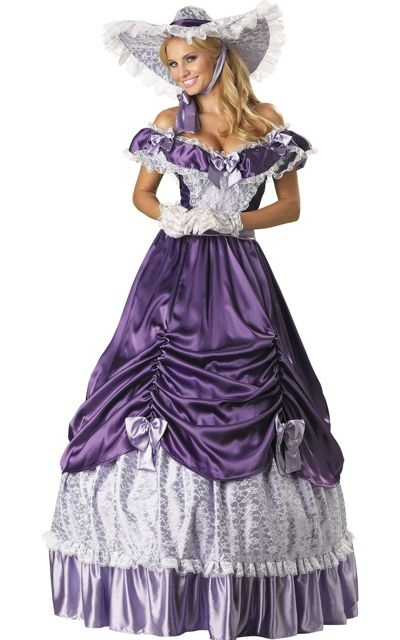 I don't know why but I love southern belle dresses