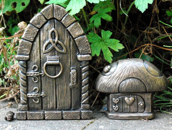 Celtic designs celtic and fairy doors on pinterest for Irish fairy door ideas