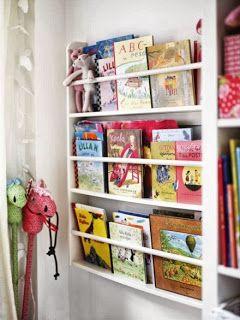 Farmhouse Friends - Barnmöbler | Inredning till barnrummet | Personliga doppresenter: Farmhouse väggbokhylla