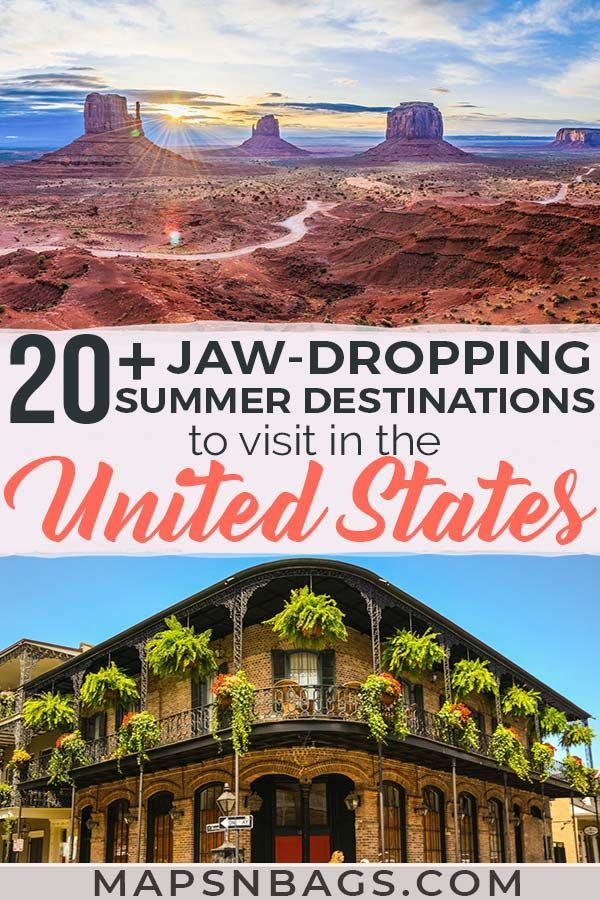 27 Amazing Summer Destinations In The Us 5 Will Blow Your Mind In 2020 Summer Vacation Destinations Best Summer Vacations Summer Vacation Spots