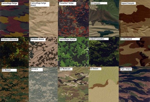 camouflage types - Google Search