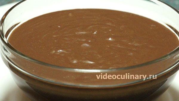 Заварной крем с какао рецепт с фото
