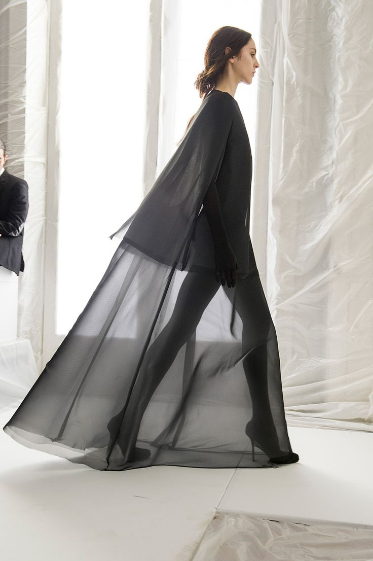Maison Martin Margiela Spring 2013 – Backstage – Vogue