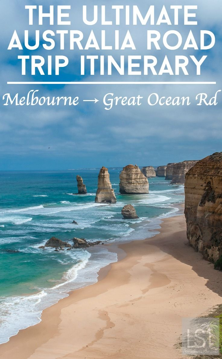 The Great Ocean Road via Melbourne: an Australia road trip