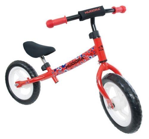 HUDORA loopfiets 'Seven', rood van Hoppa-Toys.nl. De HUDORA 'Seven' loopfiets (rood) is een ergonomisch ontworpen loopfiets en is ontwikkeld in samenwerking met de universiteit Wuppertal. Deze loopfiets van HUDORA bevordert het evenwichtsgevoel en bereidt kinderen optimaal voor op het fietsen. Van 54,95 euro voor 38,95 euro.