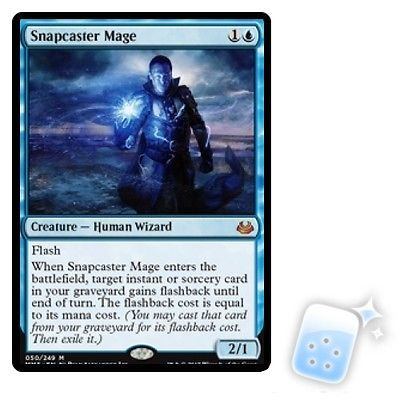 MTG Individual Cards 38292: Snapcaster Mage Modern Masters 2017 Magic Mtg Mint Card -> BUY IT NOW ONLY: $53.49 on eBay!