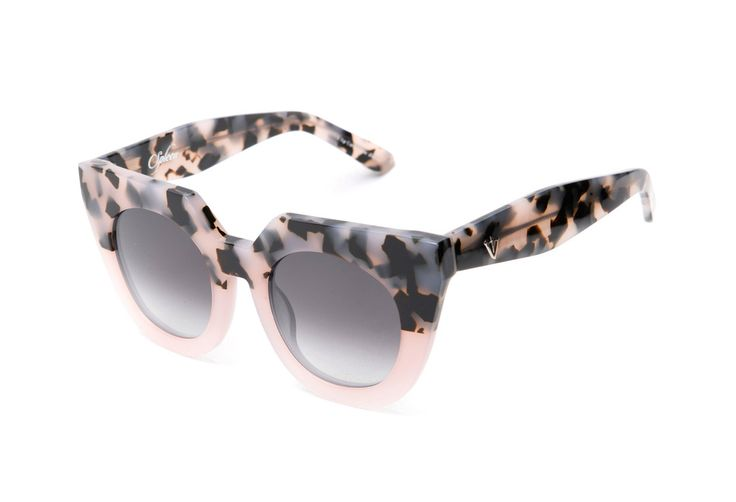 Valley Eyewear - Spleen Baby Pink To Tort Fade