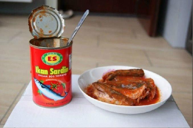 canned sardines in tomato sauce, China factory canned