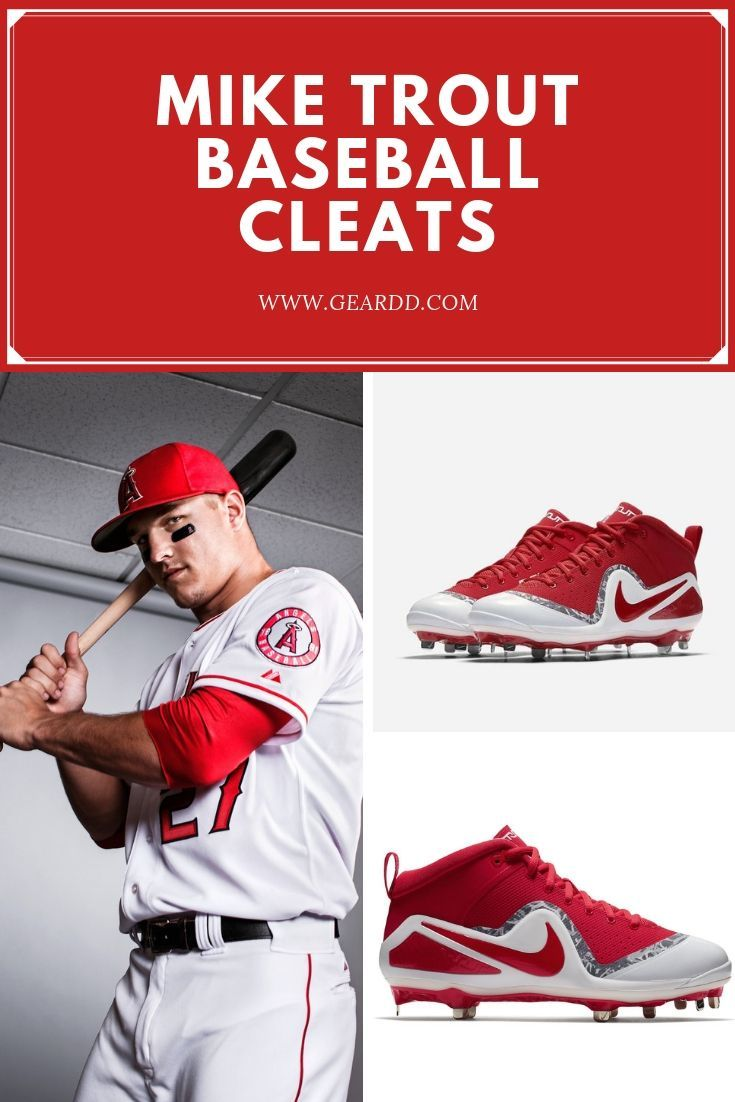 Mike Trout Los Angeles Angels Mike Trout Trout Baseball Gear