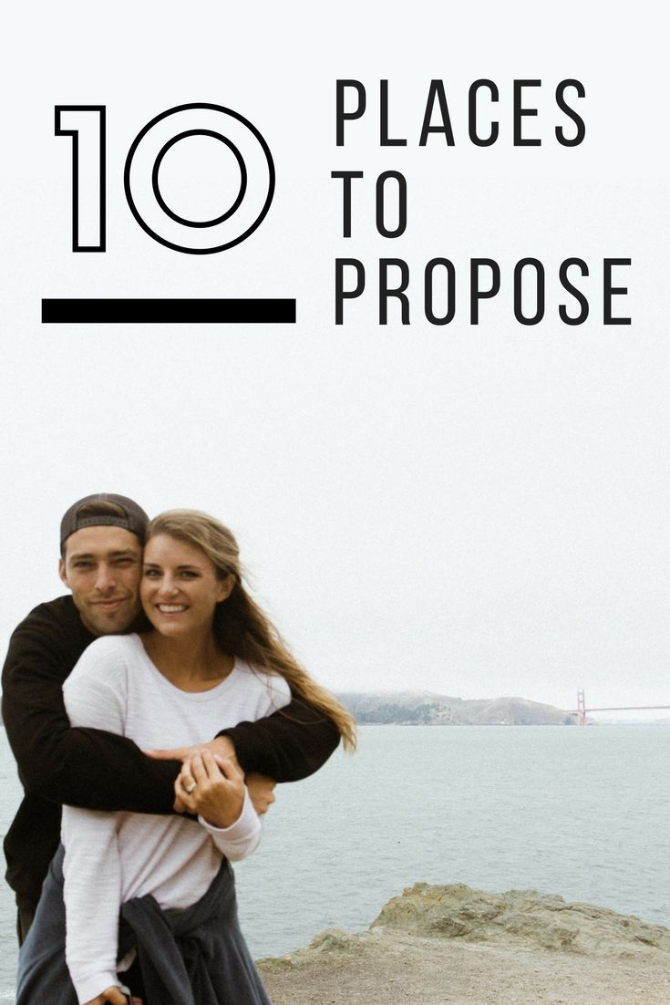 Now that you've got all the details and planning worked out for how to propose on vacation, picking where you want to propose is the fun part. The backdrop for your proposal is part of what makes the moment so special, and the location will forever be a place the two of you will want to go back to over and over again. Here are our top ten most romantic places to propose!