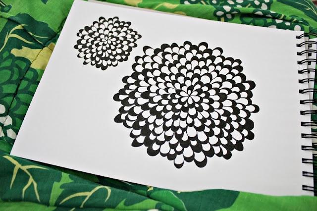Skagerak: DIY - Draw a pattern # 4 by Søhesten aka Trine.