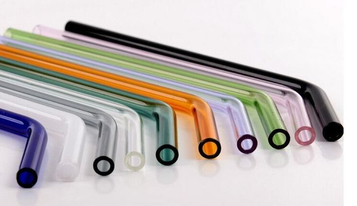 Fashion Hot Straws Bent Color Drinking Glass Straws For Kitchen Barware Curly Drinking Straws Custom Drinking Straws From Santi, $1.51| Dhgate.Com