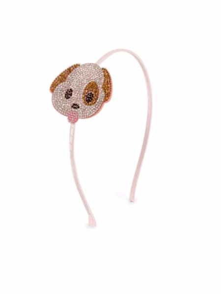 Wear your favorite emoji! PuppyEmoji Headband. We also have beloved MonkeyEmoji headband and the Emoji Heart Eye headband.